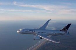 Boeing 787 Dreamliner de United Airlines