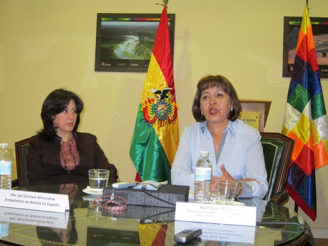NARDI SUXO ITURRY, MINISTRA DE BOLIVIA