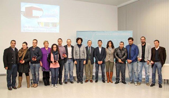 Un total de 8 nuevas empresas se ubican en los viveros de - Viveros en murcia ...