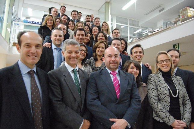 Loyola forma a empleados de cajasur para acreditarlos como for Oficinas caja sur