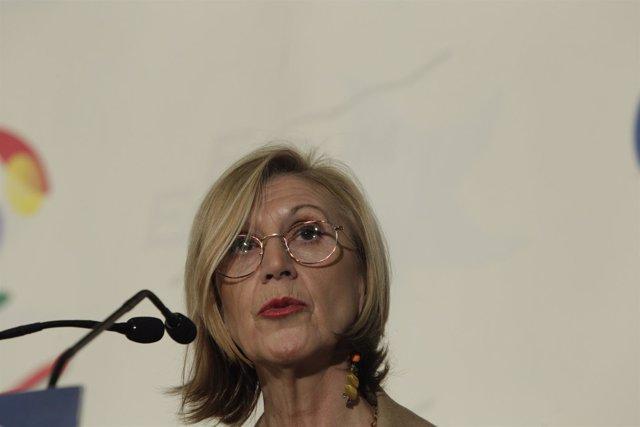 La líder de UPyD, Rosa Díez