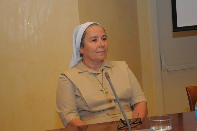 Misionera comboniana en Egipto Expedita Pérez