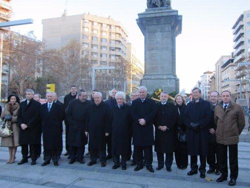 Conmemoración Justicia de Aragón.