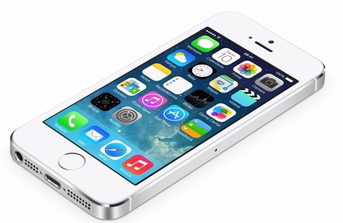 IPhone 5S con iOS 7 Apple