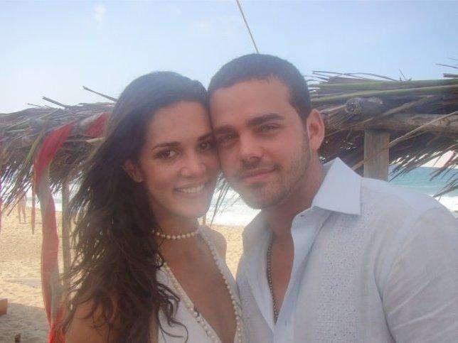 Mónica Spears y su esposo