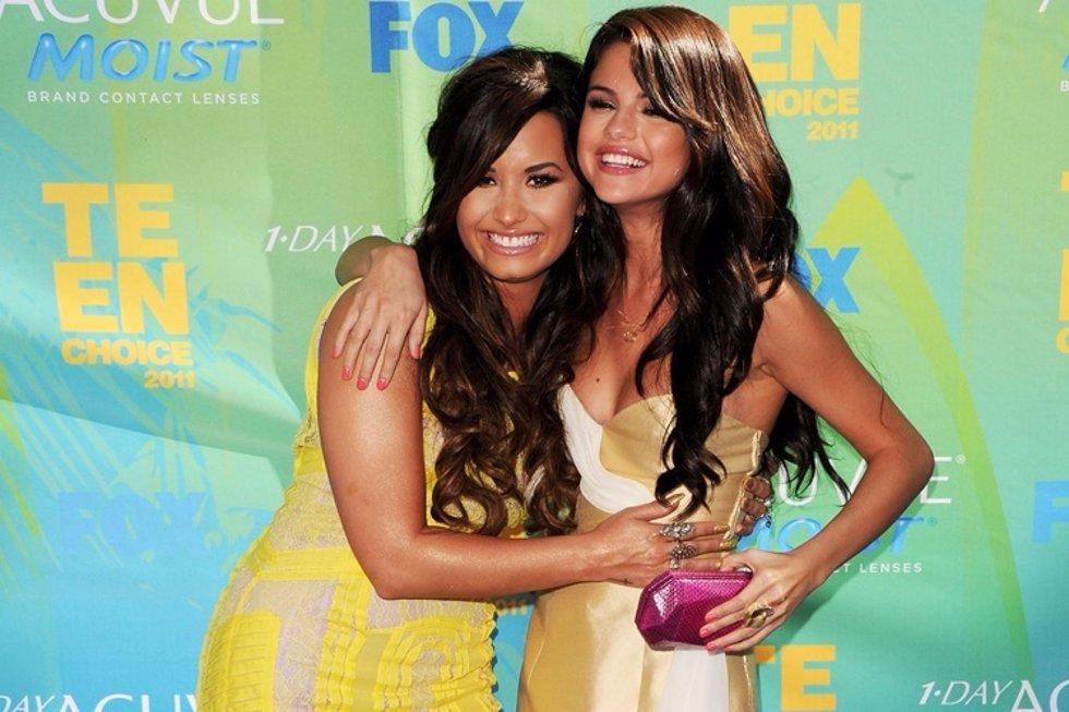 Demi Lovato animó a Selena Gómez para volver con bieber