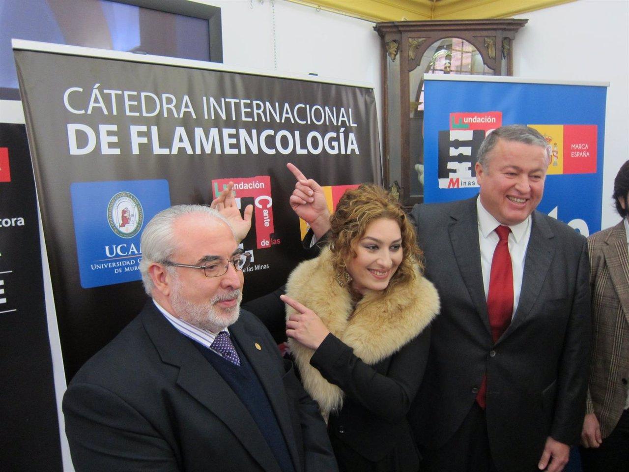 Presentación de la Cátedra de Flamencología-UCAM-Fundaceión Cante de las Minas