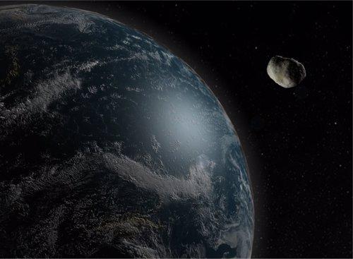 Imagen de un asteroide Universidad de Huelva