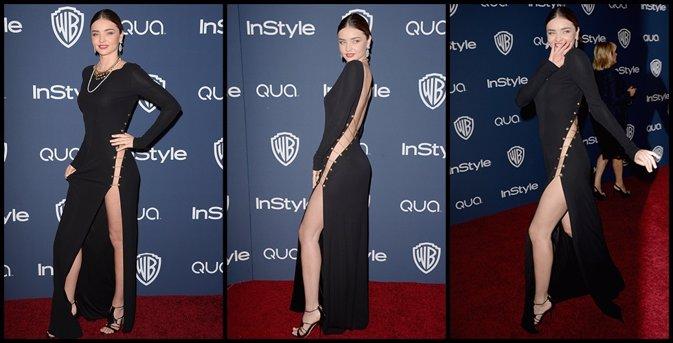 Miranda Kerr sin ropa interior acapara todos los flashes