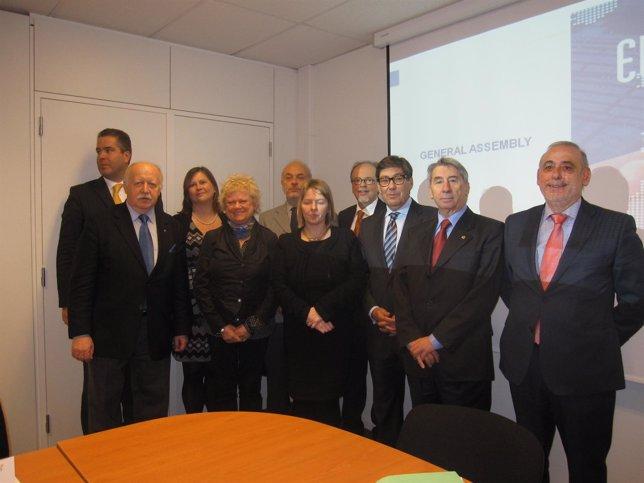 Aliaga y López de Hita, entre otros, en la Asamblea de EUROSMES