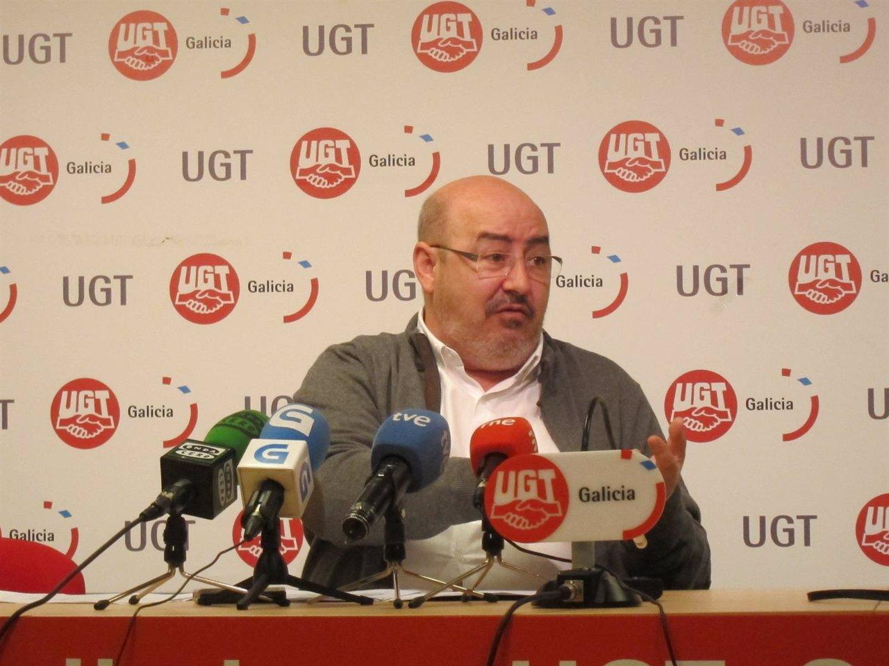 El secretario general de UU.AA., Roberto García