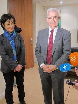La nueva oficina de la junta en madrid permitir un ahorro for Oficinas unicaja cordoba