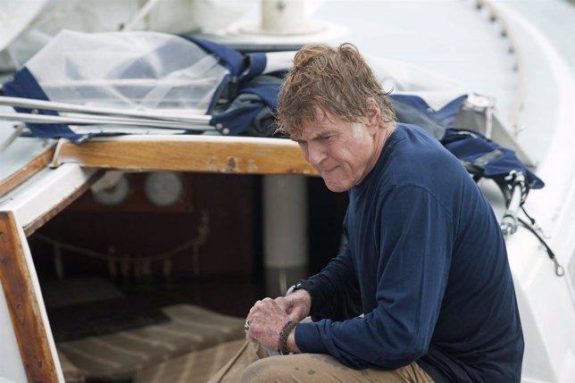Robert Redford en  'Cuando todo está perdido