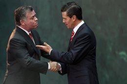 Enrique Peña Nieto y Rey Abdullah II de Jordania