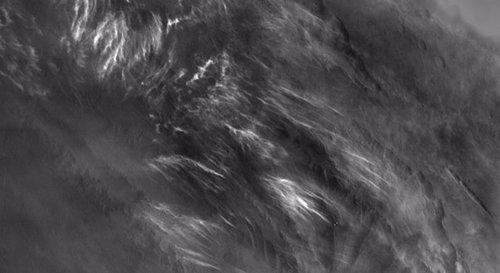 Nieblas en Marte