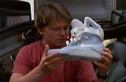 Las zapatillas Nike autoajustables de Regreso al futuro