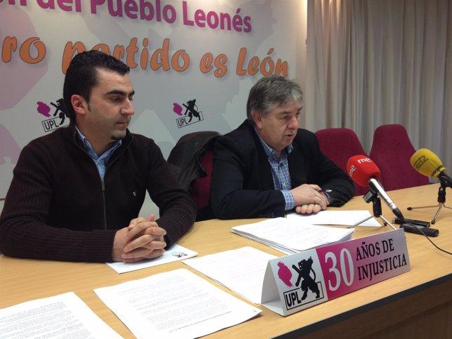 El vocal de UPL en el Ayuntamiento de Garrafe de Torío, Fulgencio Bandera
