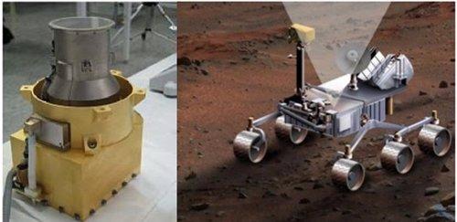 Curiosity mide la radiación de Marte