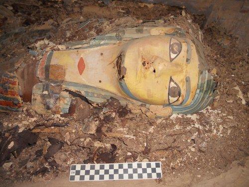 Momia de un gobernador egipcio