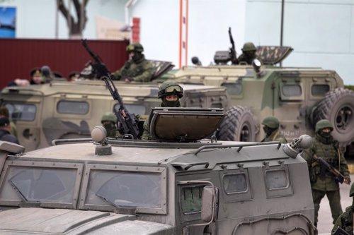 Soldados rusos en Ucrania, Crimea