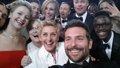 Ellen DeGeneres, Twitter y Samsung se apuntan un tanto en los Oscar