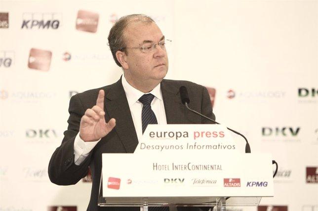 El presidente del Gobierno de Extremadura, José Antonio Monago