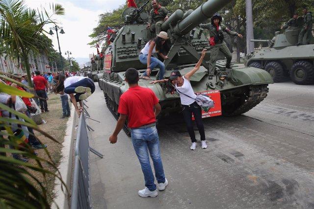 Venezuela, conmemoración de Chávez, manifestaciones, protestas