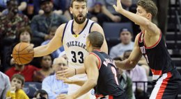 Foto: Marc Gasol roza el 'triple-doble' en una noche de brillo español (USA TODAY SPORTS / REUTERS)