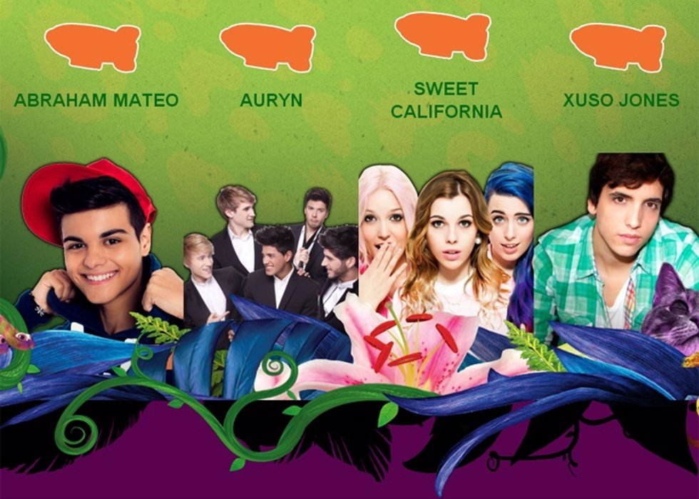 Abrama Mateo, Ayrin, Sweet California y Xuso Jones lucharán por los Nickelodeon
