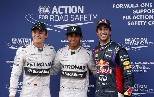 Hamilton logra la pole y Alonso saldrá quinto