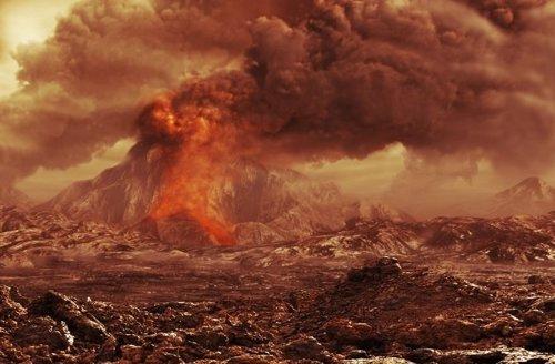 Volcán en Venus