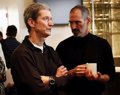 """Tim Cook, entre los mejores líderes mundiales """"por continuar el legado de Steve Jobs"""""""