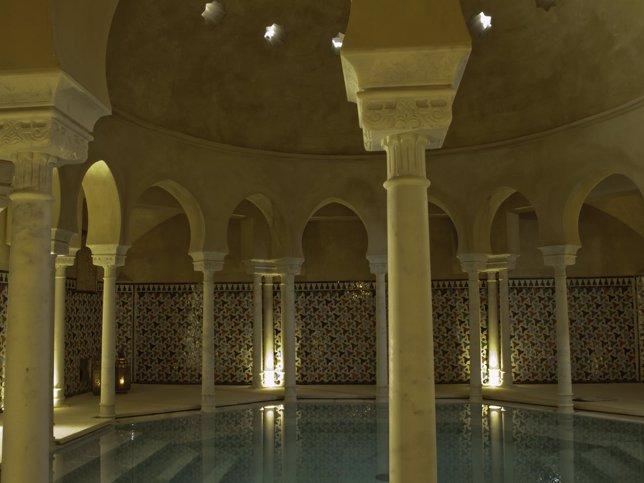 Baños Estilo Andaluz:Málaga- Turismo- Los baños árabes Hammam Al Ándalus organizan un