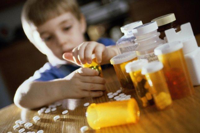 Consumo de fármacos en niños