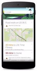 Google Now ahora avisa de accidentes de tráfico