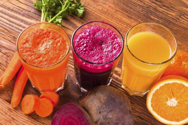 Dieta depurativa, zumos de frutas