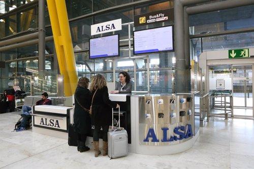 Alsa abre una nueva oficina de informaci n y venta en la for Oficinas en moncloa