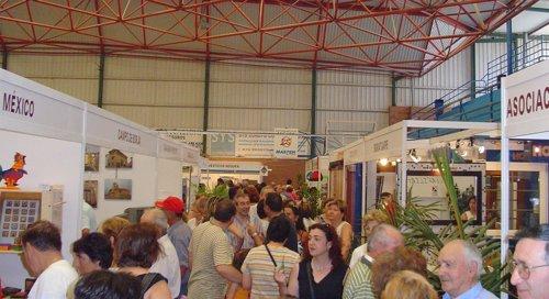 Visitantes de la feria Expo-Borja en su anterior edición en 2013
