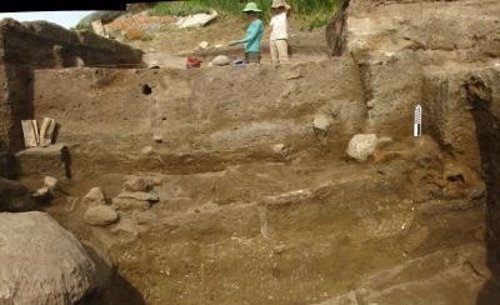 Yacimiento arqueológico en Tasbas