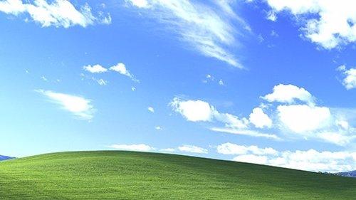 Bliss, el fondo de pantalla de Windows XP