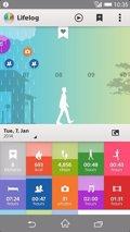 Sony lanza Lifelog, la app que recoge el día a día de la pulsera SmartBand