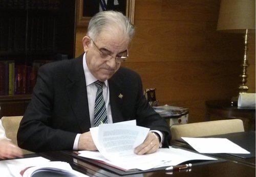 El presidente del astillero Barreras, José García Costas.