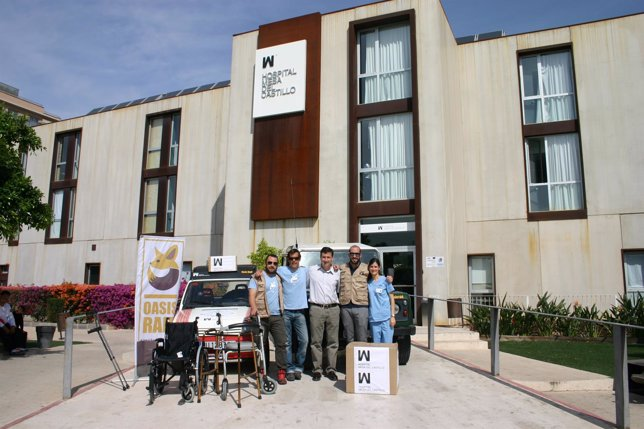 Mesa del castillo vuelve a marruecos en misi n sanitaria for Mesa del castillo murcia