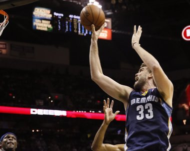 Foto: Marc Gasol disputará los 'play-offs' (REUTERS)