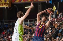 Foto: El Barça abusa del Galatasaray tras la lesión de Arroyo (EUROLEAGUE)