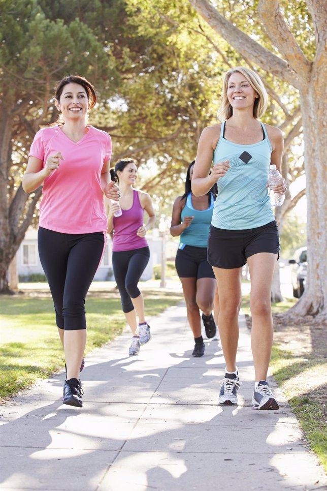 Mujeres que corren, correr, jogging, footing, running
