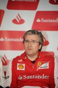 "Foto: Fry (Ferrari): ""Las dos primeras vueltas van a ser claves"" (RV-RACING-PRESS)"