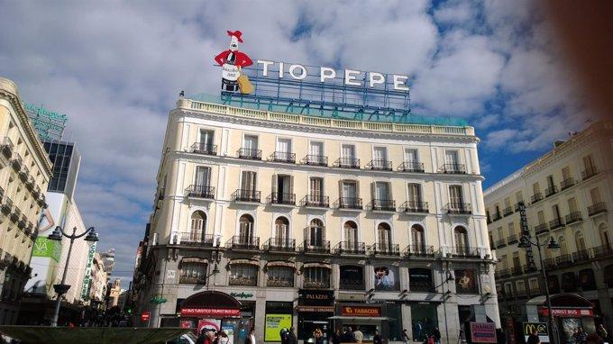 El T O Pepe Vuelve A Sol Aunque Desplazado Por La Apple Store