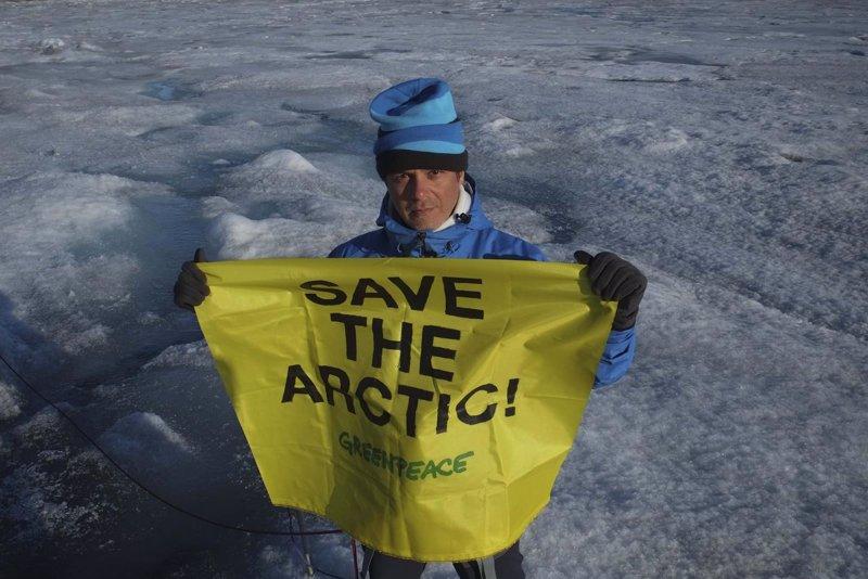 Alejandro Sanz. Salvar el Artico
