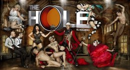 Foto: The Hole celebra sus mil funciones con una cena afrodisíaca (PRODUCTORA THE HOLE)
